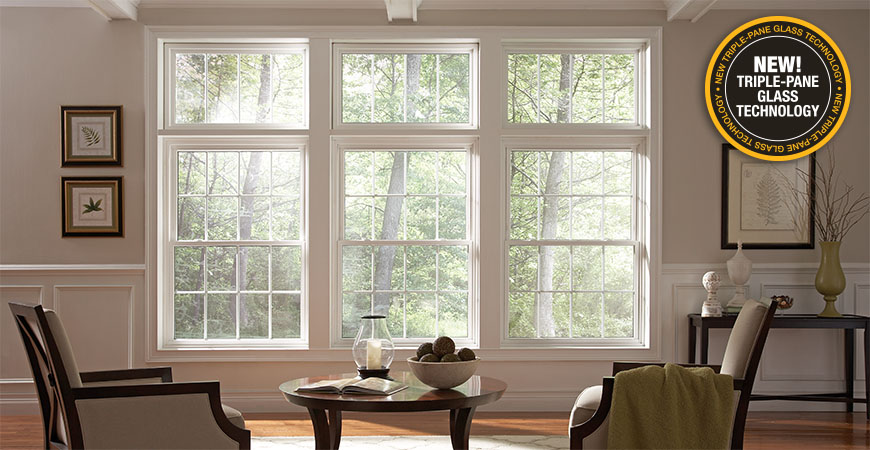Energy-Efficient Vinyl Windows