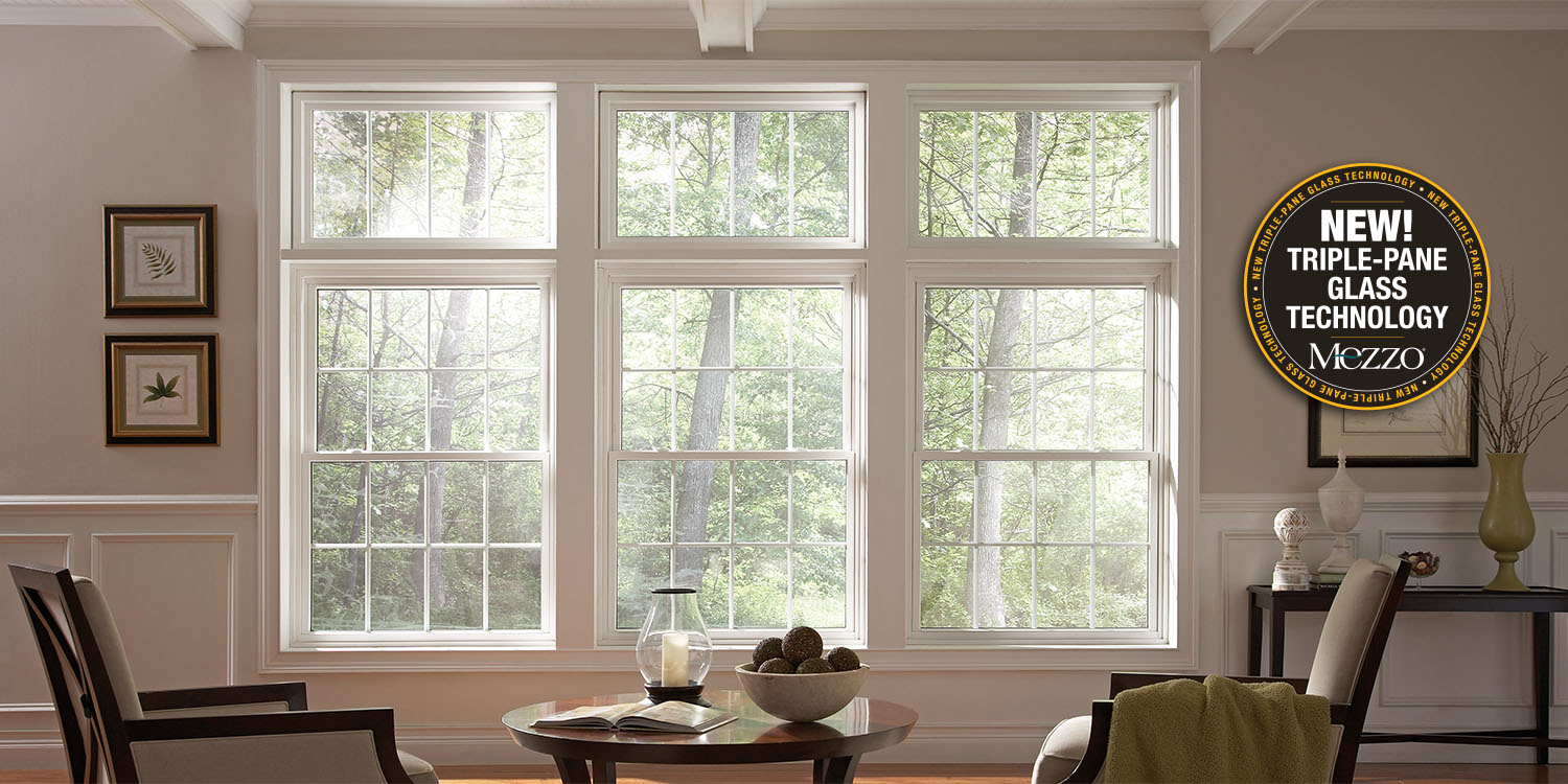 Ultra high quality vinyl windows clevernest for Vinyl home windows
