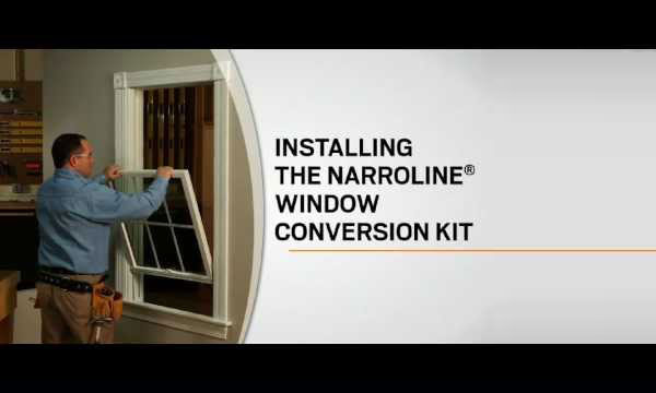 Andersen Narroline Sash Conversion Kits Clevernest