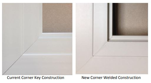 New Corner Joining for Andersen 100 Series Windows